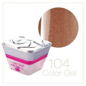 Crystal Color Gel - Metal Colors #104