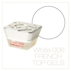 French Top Gel White