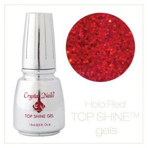 Top Shine Gel Hologram Red
