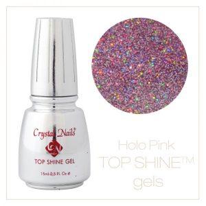 Top Shine Gel Hologram Pink