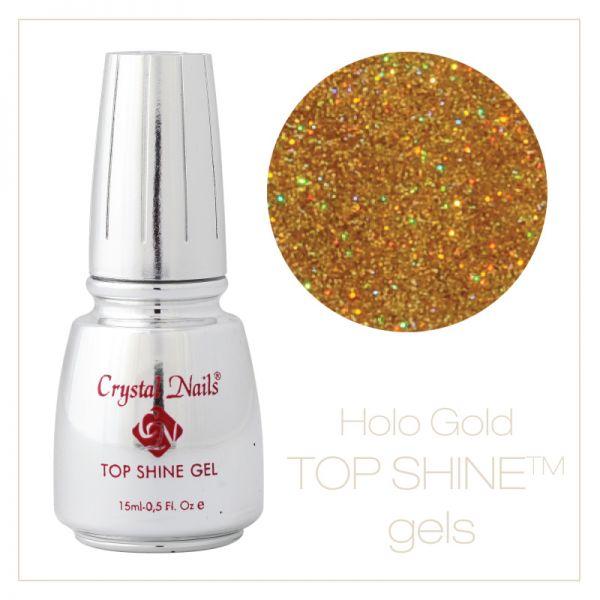 Top Shine Gel Hologram Gold