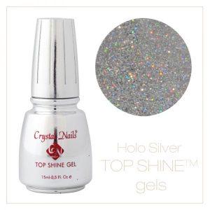 Top Shine Gel Hologram Silver