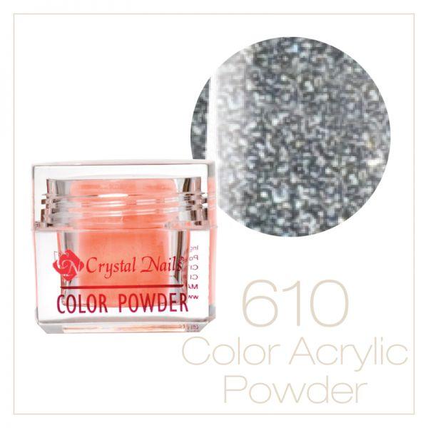 610 Silver Acrylic Powder