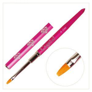 Gel Modellier Pinsel #4 Pink