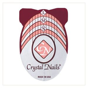 Crystal Nails Nail Forms Schablone
