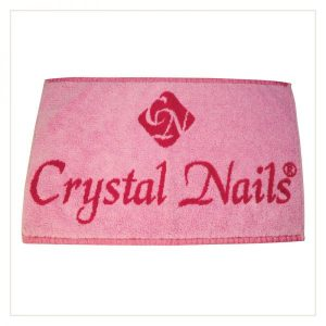 Crystal Nails Handtuch Pink