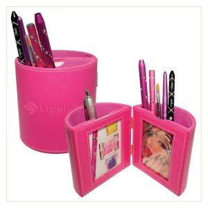Pinselhalter mit Photorahmen (Pink)