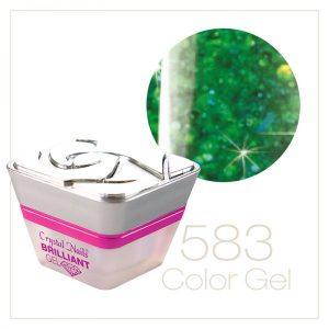 Multi Glitter Gel Grün (583)