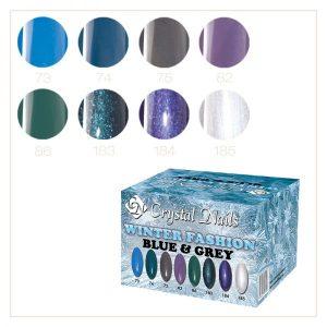 Winter Fashion Collection (Blau & Grau)