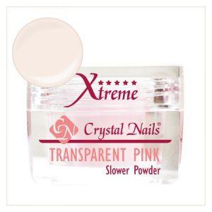 Slower Xtreme Transparent Pink Acrylic