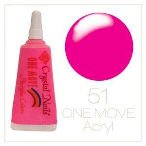 One Move Acrylic Neon Color #51
