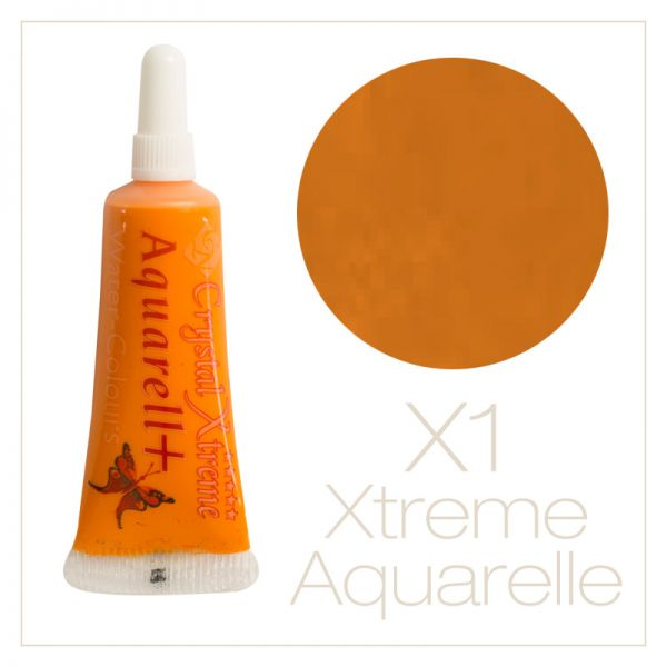 Aquarell Farbe X1