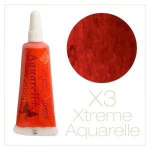 Aquarell Farbe X3