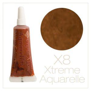 Aquarell Farbe X8