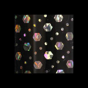 Transferfolie, Hologramm, Sechseck