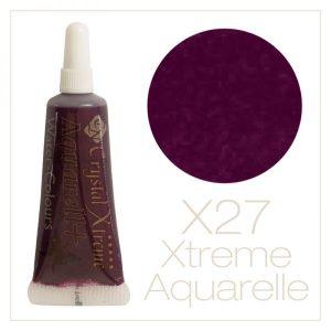 Aquarell Farbe X27