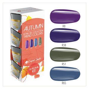 Autumn Trend Colors - Royal Gel Kit