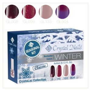 Bestseller Farben Winter CrystaLac Set