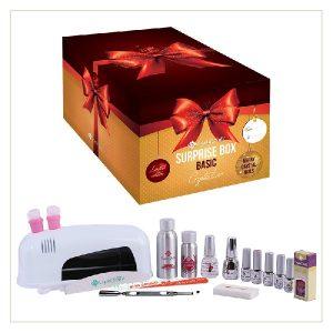 Basic Box Crystal Lac Merry Christmas