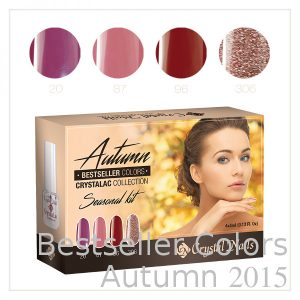 Bestseller Colors Autumn 2015 CrystaLac Set