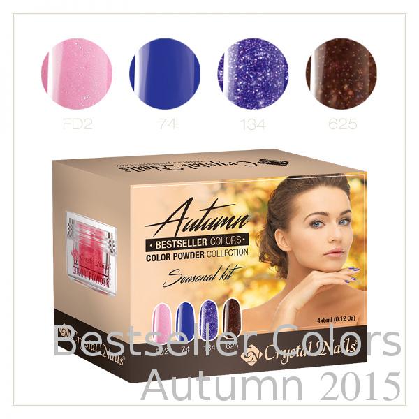Bestseller Colors Autumn 2015, Powder Colors Kit
