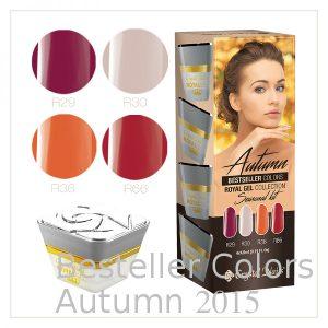 Royal Gel Kit - 2015 Bestsellers Autumn Colors