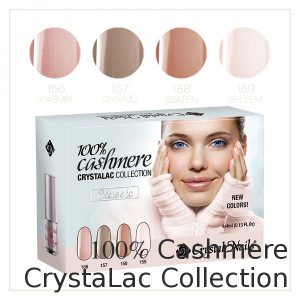 100% Cashmere CrystaLac Collection