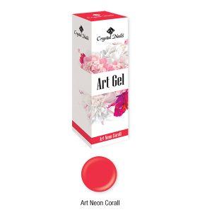 Art Gel (neon korall)-0