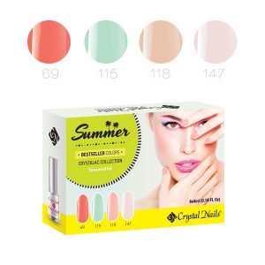2016 Summer Crystalac Bestseller Colors Kit