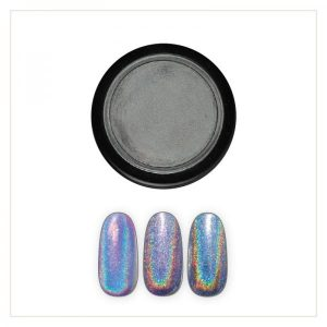 Chrome Mirror Pigment Powder, Holo #1