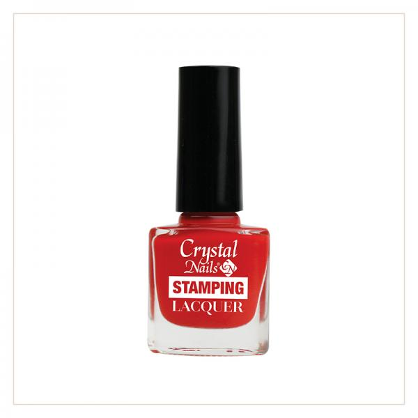 Stamping Lacquer Red