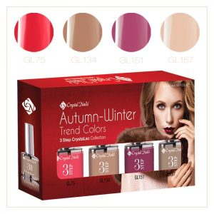 2016 Autumn-Winter Trend Colors CrystaLac Set