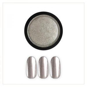 Chrome Mirror Pigment Powder, Fine Silver