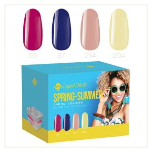 2017 Color gel Trend Colors Spring-Summer kit