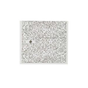 Folieneffekt Nagelaufkleber #3 - silber