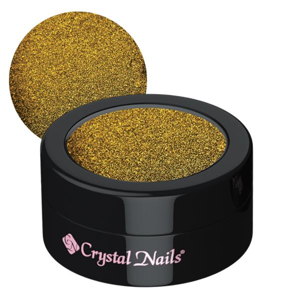 Chrome Mirror Pigment Powder, Tigereye Gold