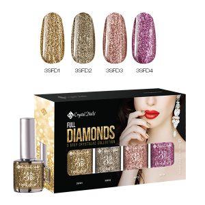 Full Diamonds 3 Step CrystaLac Kit