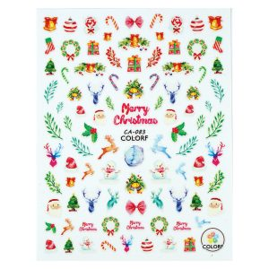 Nail sticker CA-083-christmas