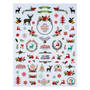 Nail sticker CA-088-christmas