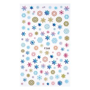 Nail sticker F268-christmas