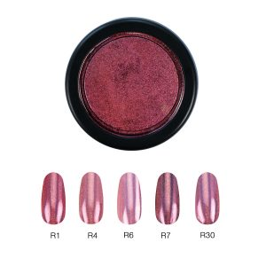 Chrome Mirror Pigment Powder, SuperHolo Pink