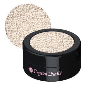NailArt Mini Perlen, weiß