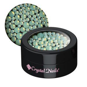 Opal Strasssteinchen, verschiedene Größen, grün
