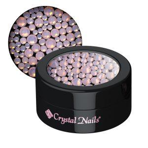 Opal Strasssteinchen, verschiedene Größen, pink