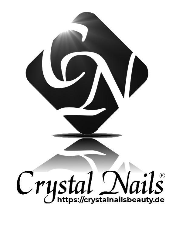Crystal Nails Logo Schwarz